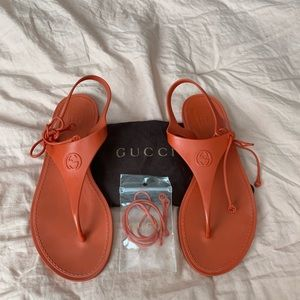 Gucci | Katina Biodegradable Rubber Jelly Sandal